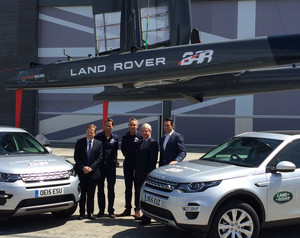 Ben Ainslie Racing Boosted by Partnership with Jaguar Land Rover