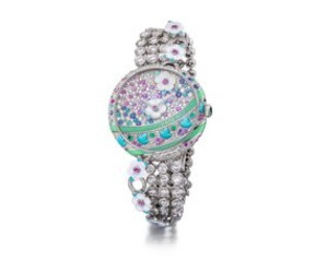 Fabergé Design 'Summer in Provence' Timepiece