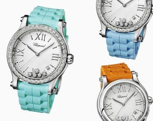 The Happy Sport Watch Collection by Chopard