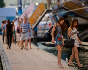 Singapore Yacht Show Gears up for Opening