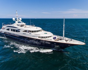 Superyacht Swan Arrives on the Market for Sale