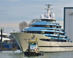 Oceanco Launches Largest Yacht to Date: Jubilee
