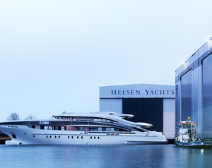 Heesen Yachts Launch Superyacht Project Maia