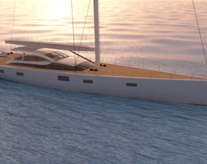 Sophisticated Sailing Yacht MM341 Enters Construction