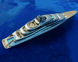 Pollux: The 111m Custom Concept from AMELS & H2