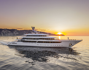 Columbus M/Y Dragon Pushes Yard into 80m+ Realm