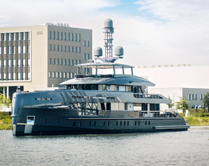 Heesen Releases 50m Erica for Sea Trials