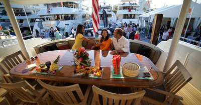 Worth avenue yachts host yacht hop at palm for Canape wilmington