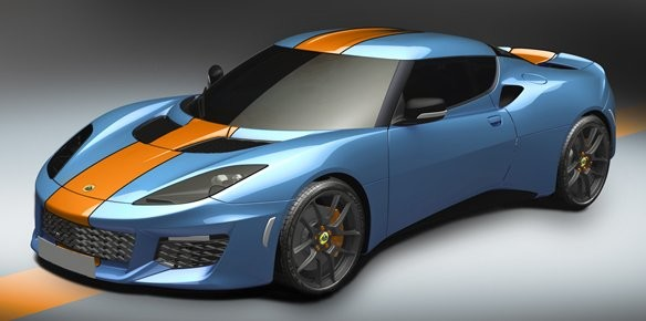 Lotus Evora 400 Furnished with Iconic Racing Colour Scheme