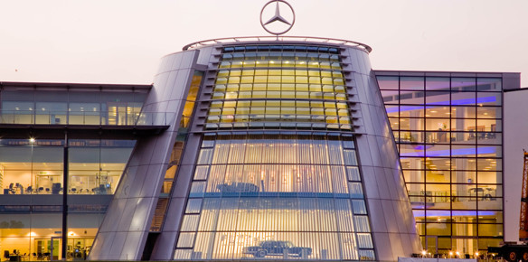 Mercedes-Benz World Celebrates 10th Anniversary