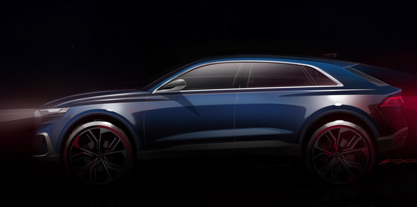 Audi Q8 Concept Set to Debut in Detroit
