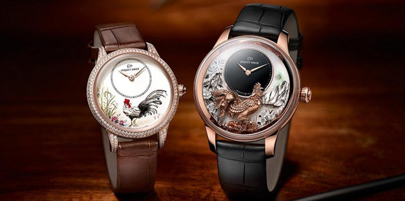Jaquet Droz Timepieces Pay tribute to 'Year of the Rooster'