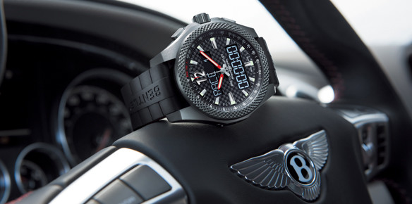 Breitling Mark Bentley Supersports Launch with 'Connected' Chronograph