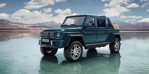 Mercedes-Maybach G650 Landaulet to Launch at Geneva Motor Show