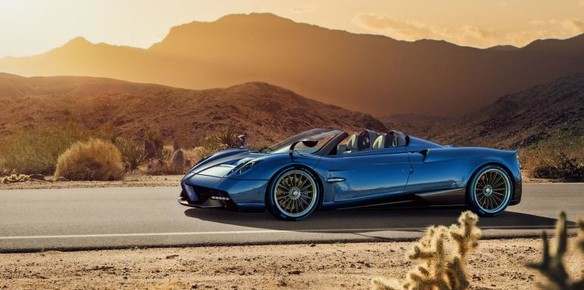 The Pagani Huayra Roadster: Yours for $2.4m