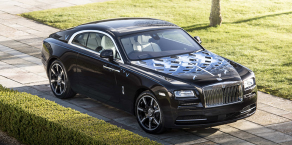 Rolls-Royce Teams up With Music Legends for Bespoke Wraith Series