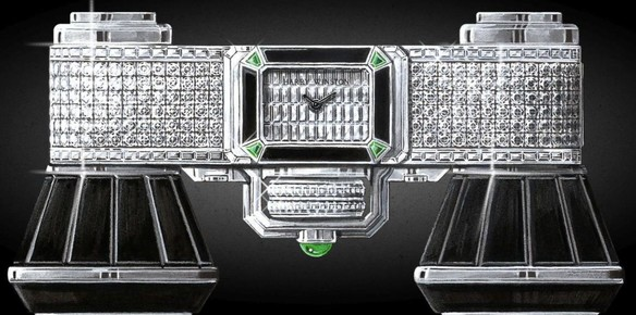 Harry Winston Broadway Glasses a Tribute to an Art Deco EraEra