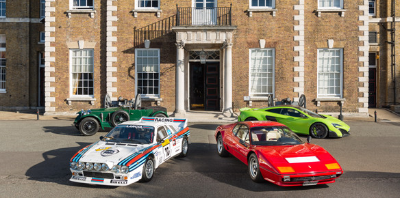 London's City Concours Sheds Light on Supercar Line Up