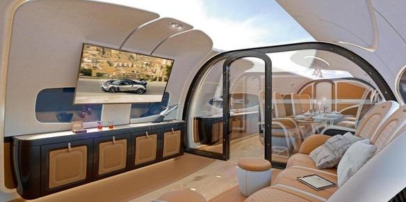 Airbus Unveils Futuristic Cabin Concept at EBACE Aviation Conference