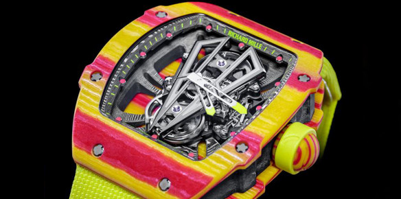 Richard Mille Serves Up a $725,000 Watch for Rafael Nadal