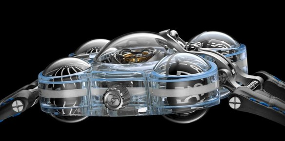 MB&F Launch $500k Alien Nation Timepiece