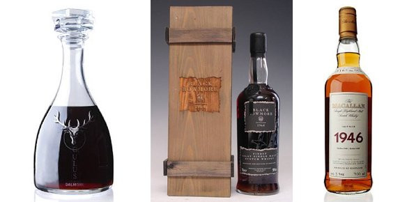 Top takers from the Bonhams whisky auction