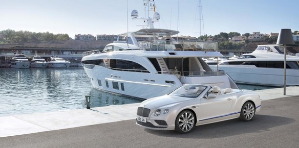 luxury cars yachts  Luxury Yachts the Blueprint for Bentley.. | superyachts.com