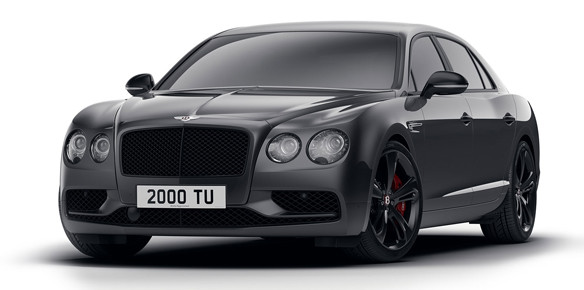 Bentley Flying Spur Black Edition Boats Dynamic Looks
