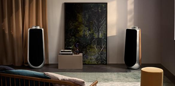 bang olufsen launches beolab 50 loudspeaker. Black Bedroom Furniture Sets. Home Design Ideas