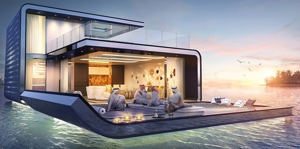 Dubai's Floating Seahorse Villa: Yours for $3.3 Million