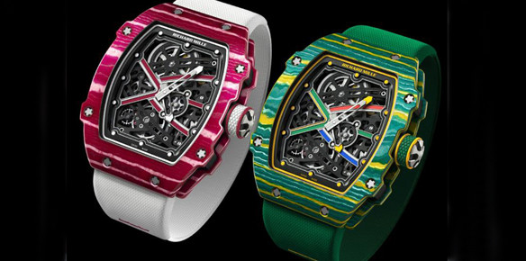Bigger, Faster Stronger: Richard Mille Launches Olympics-Inspired Watches