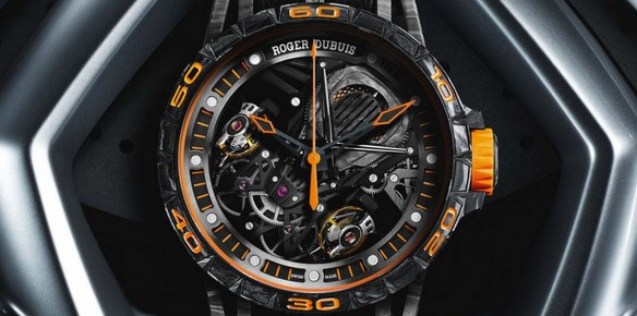 Lamborghini and Roger Dubius Unveil Aventador Watches