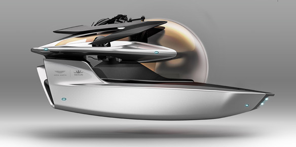 Aston Martin and Triton Submarines in Ground-Breaking Partnership