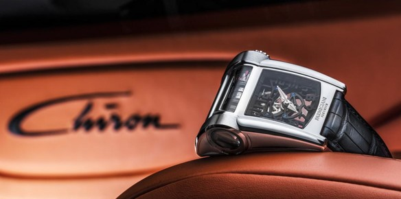 Parmigiani $300k Timepiece Inspired by the Bugatti Chiron