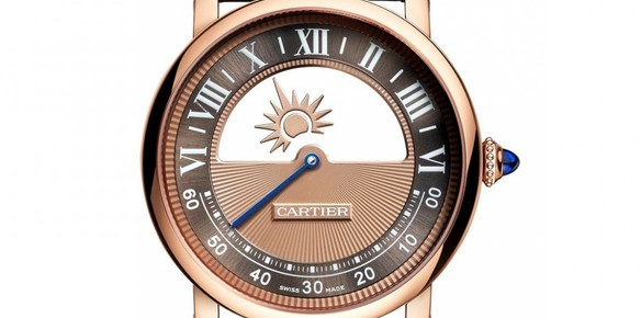 Cartier's One-Handed Timepiece: Yours for $63,000