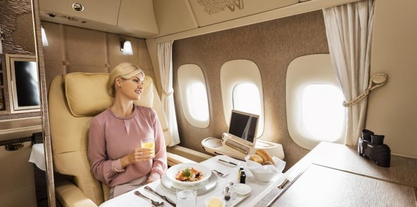 New Emirates First Class Suite Inspired by Mercedes S-Class