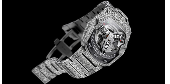 Urwerk Creates Hand Engraved Dubai-Inspired Timepiece
