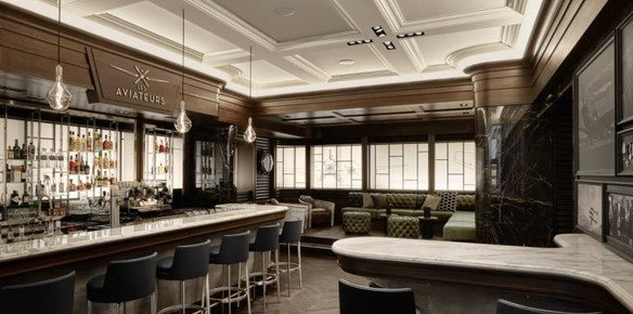 IWC's Geneva Bar Space a Hark Back to Men's Clubs of Yore