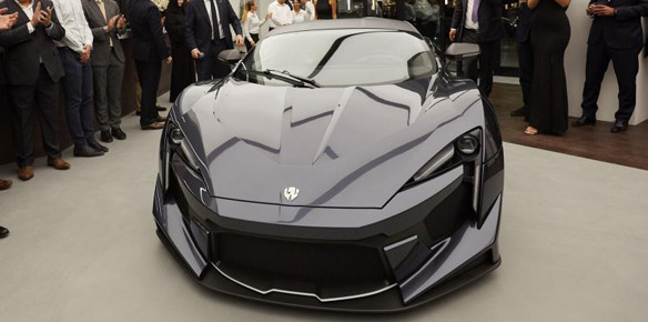 W Motors Unveils $1.9m Fenyr SuperSport Hypercar