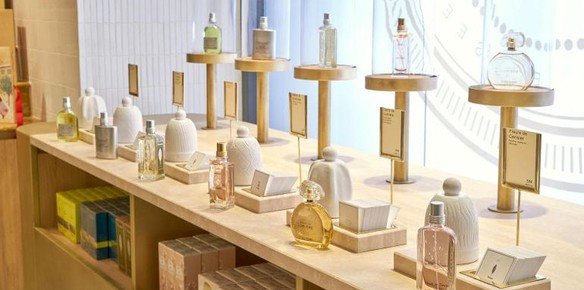 L'Occitane & Pierre Hermé Open Interactive Shared Store in Paris