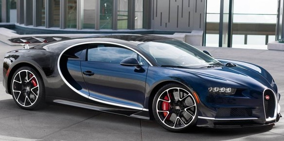 Bugatti Chiron Supercars to go Under the Hammer