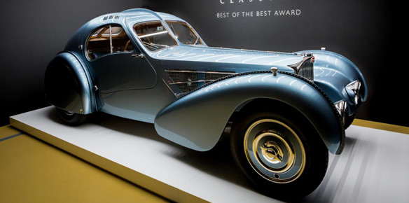 "Bugatti Type 57SC Atlantic Wins Peninsula Classic ""Best Of The Best"" Award"