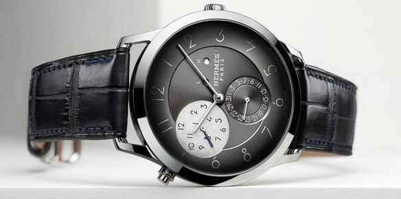 New Slim d'Hermes Timepiece Made from Palladium