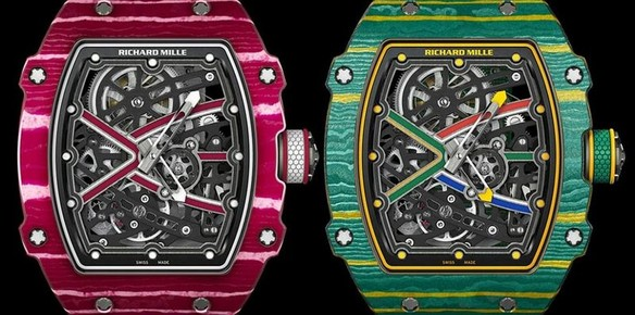 Richard Mille Teams Up with Athletes on Custom Timepieces