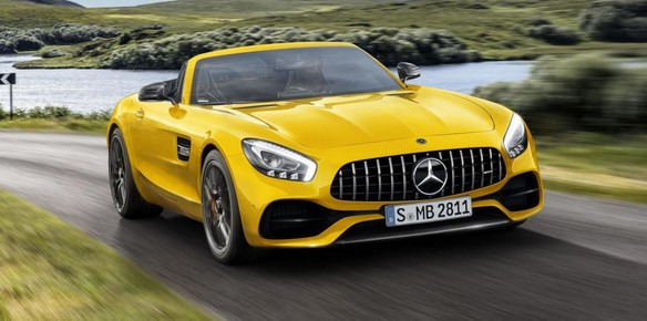 Mercedes Unveil Latest AMG GT S Roadster Convertible