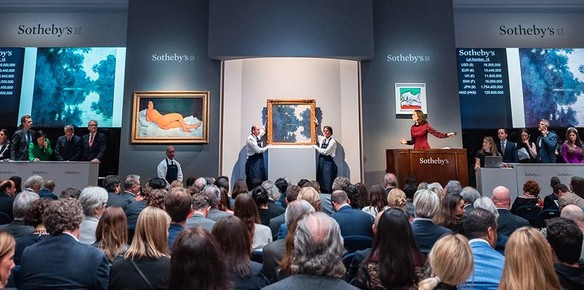 Modigliani Painting Sells for Record $157m at Sotheby's Auction