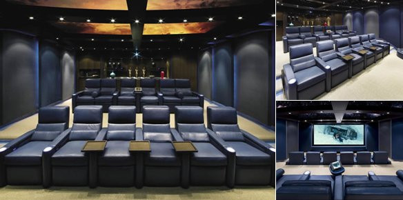 The Ultimate Home Theatre from Jeffrey Smith | superyachts.com