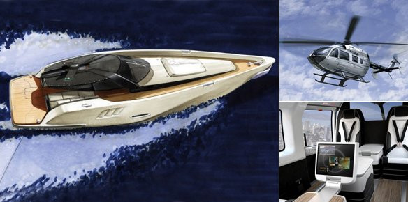 Mercedes Benz Has Announced Their Movement Into Luxury Helicopter And Yacht Design With The New Style Division
