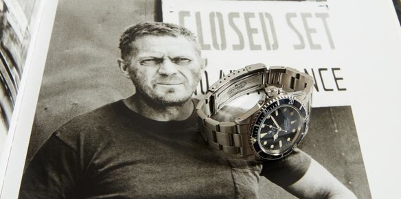 Steve McQueen's Iconic Rolex Submariner to go Under the Hammer