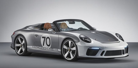 Porsche Marks 70 Years with 911 Speedster Concept